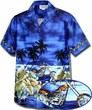 Custom Bikes Men\\\'s Aloha Hawaiian Shirt(S-4XL)